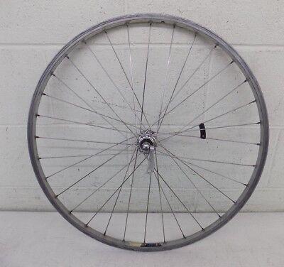 """Vintage 26"""" Mountain Bike Front Wheel w/Chinook CR16 Rim & Shimano Alivo Hub"""