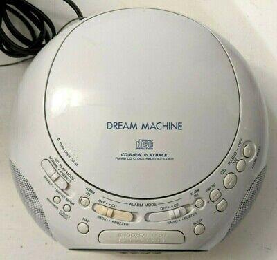 Sony Dream Machine ICF-CD831 CD Player Alarm Clock AM/FM Radio - Fully Tested