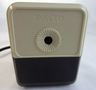X-acto Electric Pencil Sharpener Office School Supplies Grounded Plug