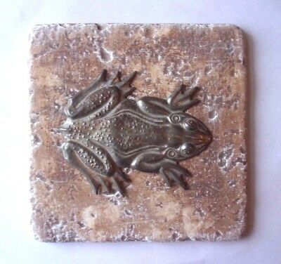 Frog tile mold plaster cement  travertine casting mould  (Frog Tile)