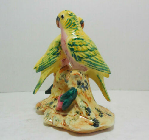 Stangl Pottery Double Love Birds #3404 Figurine 5 & 5/8th Inches Tall