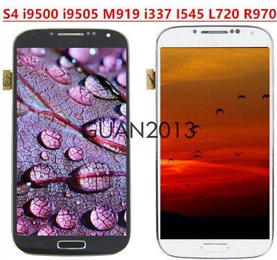 9500 Lcd - WOW For Samsung S4 i9500 i9505 M919 i337 I545 L720 R970 LCD Touch Screen +Frame