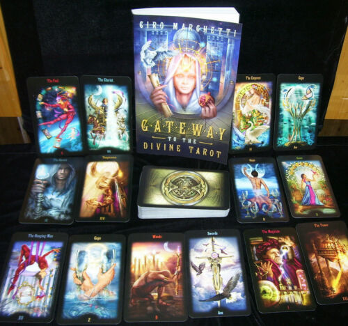 SEALED NEW ~ LEGACY OF THE DIVINE TAROT CARDS & BOOK SET MAGNETIC CLOSURE BOX