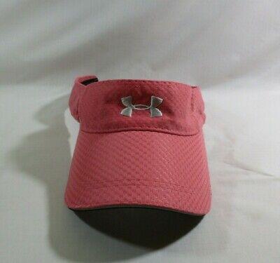 Under Armour Mauve Pink Textured Women's Visor Adjustable Strapback