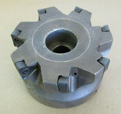4 Ingersoll Indexable Face Mill Cutter 1.5 Arbor Dj5h-40r01