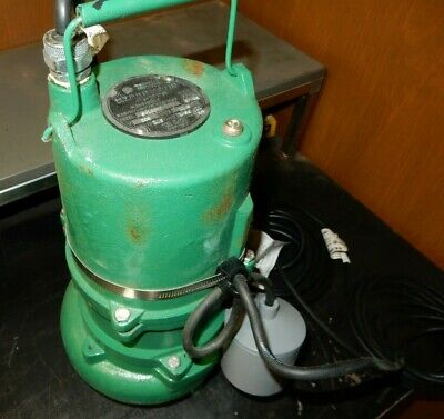 Hydromatic Sk100m7 Submersible Sewage Ejector Pumps 20 Power Cord