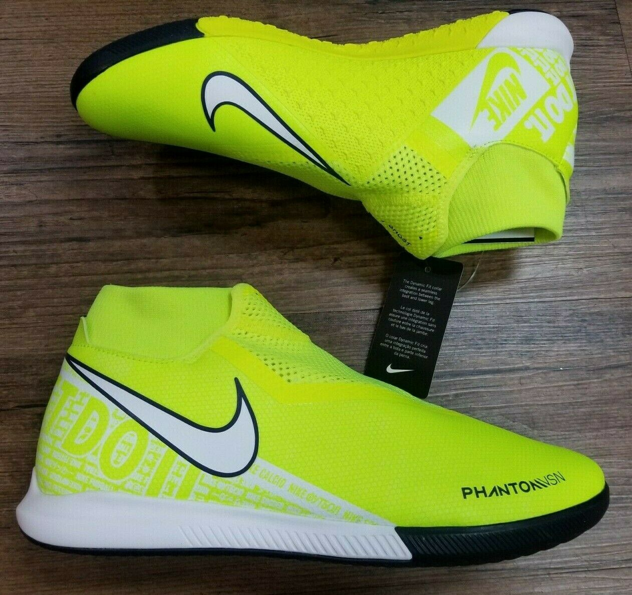 Nike Phantom VSN Academy DF IC Men's Indoor Soccer Shoes AO3