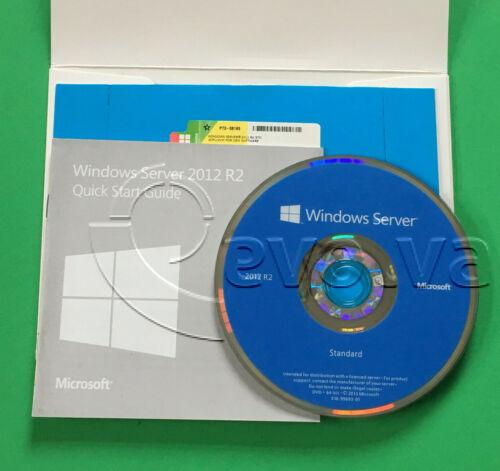 Microsoft Windows Server 2012 R2 Standard 64 bit OEM P73-06165** SEALED