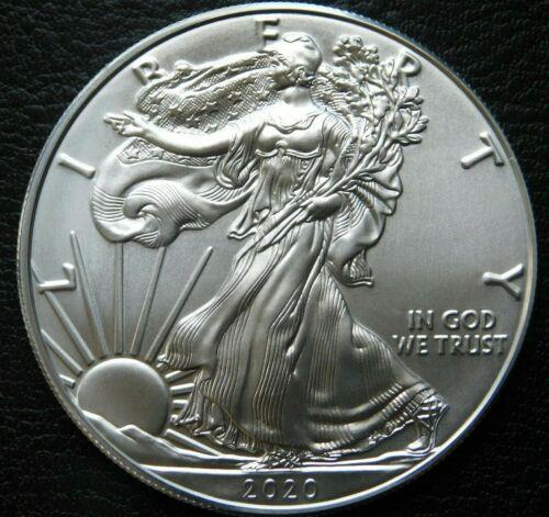 2020 American Silver Eagle 1 oz. Brilliant Uncirculated Coin