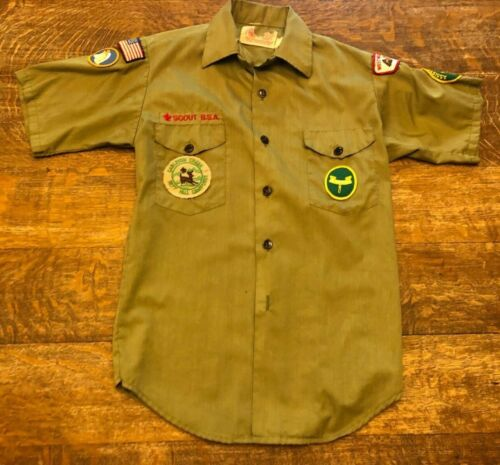 Vintage Boy Scouts Of America Child