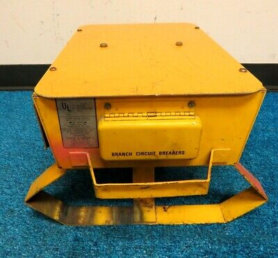 Hubbell Power Distribution Box Spider Wiring Device Sgfi-1p 50 Amp 120240 Va
