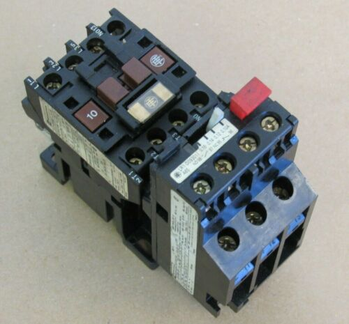 OMRON TELEMECANIQUE CONTACTOR LC1-D093 A65 W/ OVERLOAD RELAY LR.-D09 301