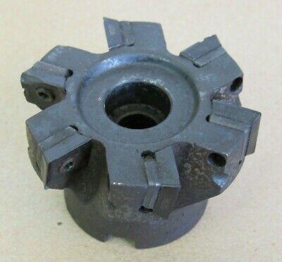 2.5 Sandvik Coromant Indexable Face Mill Cutter 34 Arbor Ra290.90-063r19-12h