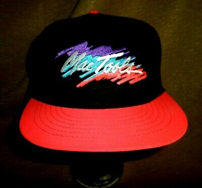 7413f749 Vintage 90's Mac Tools Patch on wool hat Snapback Hat Trucker style Bright  color