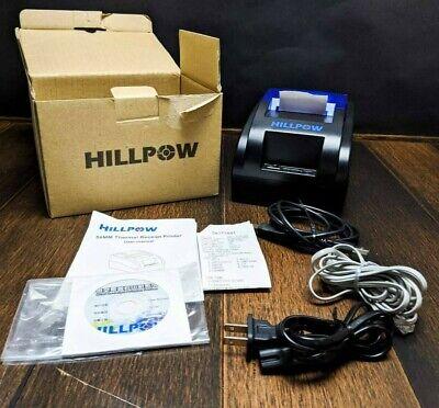 Hillpow Pos-h58 Usb Mini Receipt Printer Open Box Tested Working.