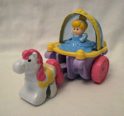 Fisher Price Little People Klip Klop Cinderella Coach - Disney Princess - 2013