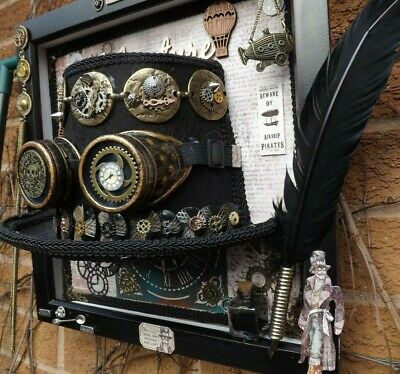 3D Steampunk Wall Art,Hand Crafted, Large 14