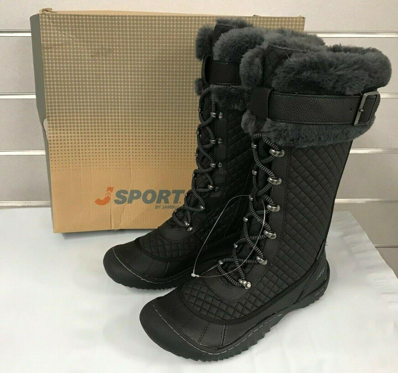 JSport Women's Windham Jambu Black Winter Boots SJ16WDM01 NE