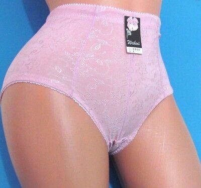 (High Cut Waist Floral Girdle Briefs Stretch Sissy Bikini panties M L XL 2XL)