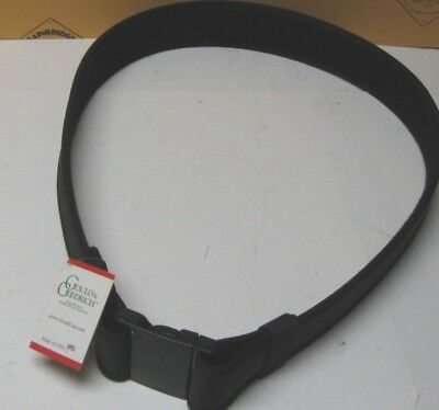 "GOULD & GOODRICH SAM BROWNE NO CRUSH BALLISTIC NYLON DUTY BELT SZ S 28""-32"" NEW"