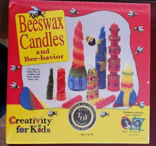 Creativity for Kids Beeswax Candles Making Kit NEW Oppenheim Best Toy Award Make