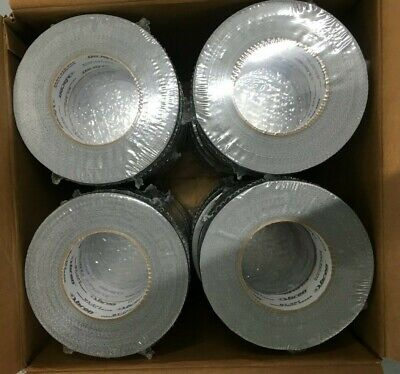 Case Of 24 Rolls Bron Bt-257 Industrial Grade Silver Duct Tape 48mm X 54.8m