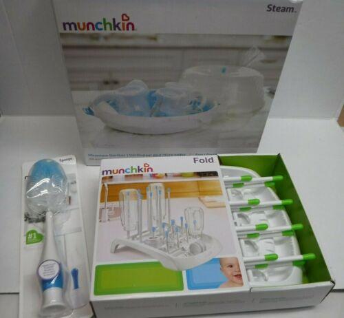 Munchkin Lot Sponge Bottle Dryer & Steam Sterilizer