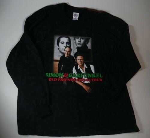 Simon and Garfunkel 2003 Old Friends Concert Tour Shirt Mens XXL XL NEVER WORN