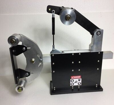 2x72 Belt Grinder Chassis With Idler Tracking Wheels