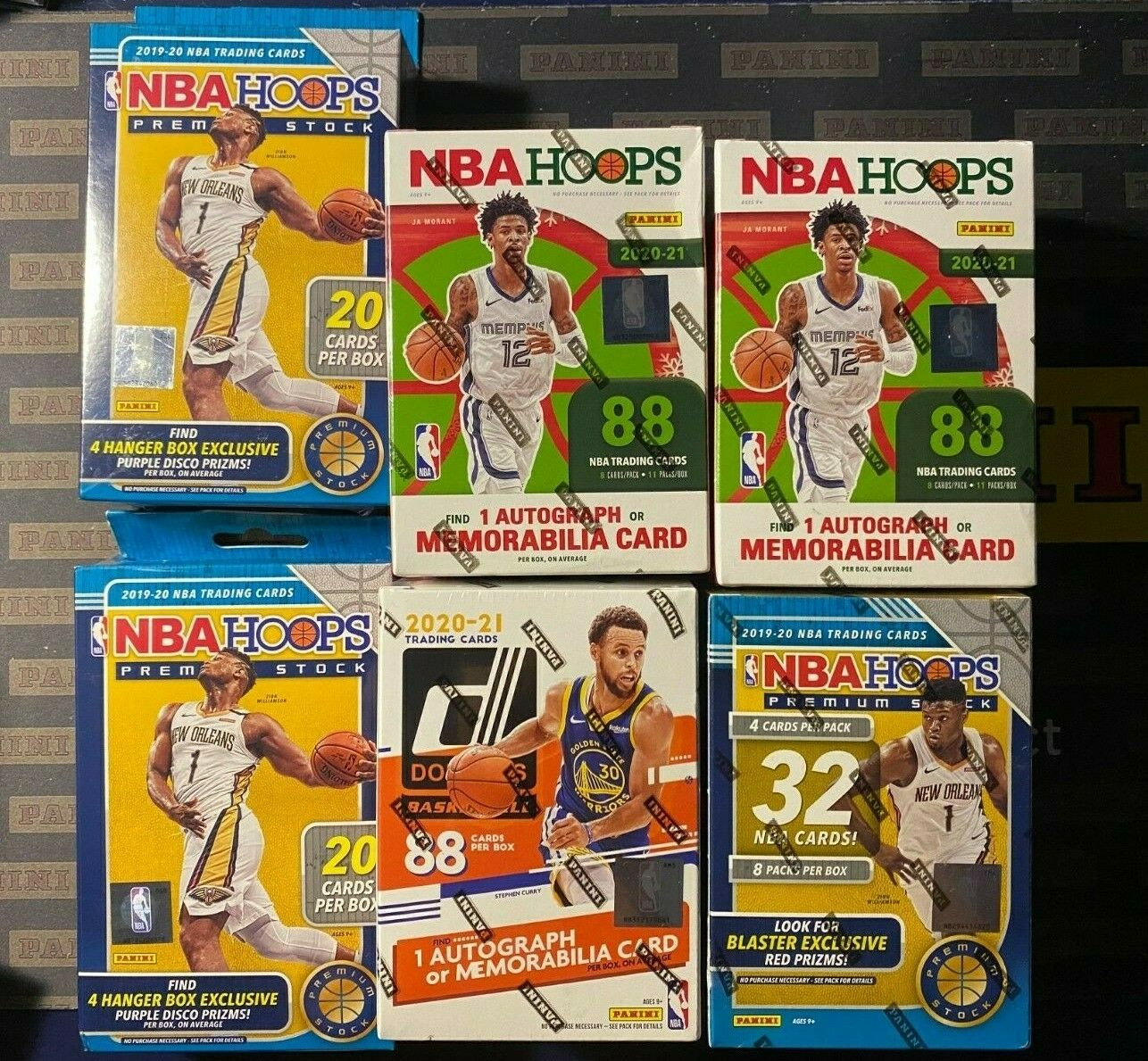 New York Knicks 2020-21 Panini Basketball Mixer Box Break LIVE 187 - $38.50