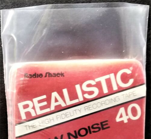 8-Track Outer Sleeves - 2.5mil Polyethylene Poly Bag Plastic Covers 10 25 50 100