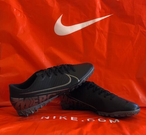 Nike Mercurial Vapor Academy Black Turf Soccer Shoe AT7996-001 Size 11