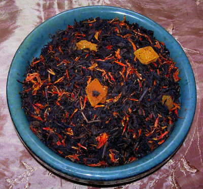 Tea Strawberry Peach & Kiwi Black Loose Leaf Fruit Cantata Aged Fruity Blend CB