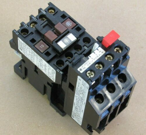 OMRON TELEMECANIQUE CONTACTOR LC1-D093 A65 W/ OVERLOAD RELAY LR.-D09 310