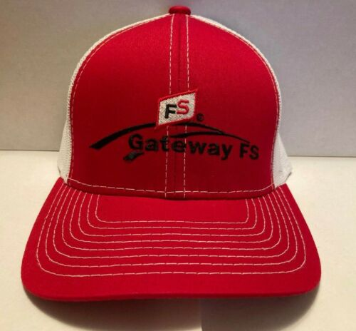 NEW Gateway FS Farm Service Hat Cap Trucker Mesh Strapback NWOT