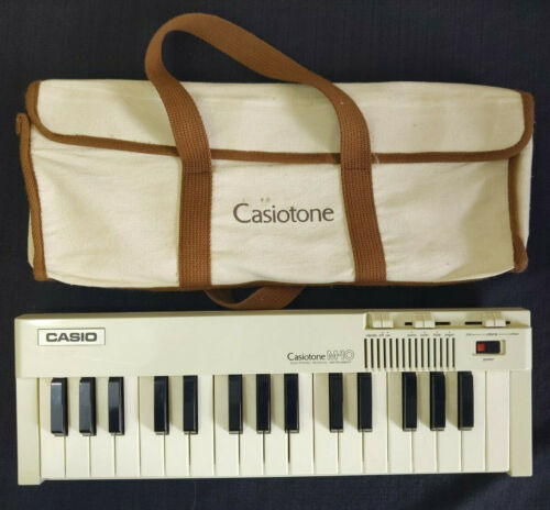 VINTAGE 1980s Casiotone M-10 by Casio~Tested~Please Read