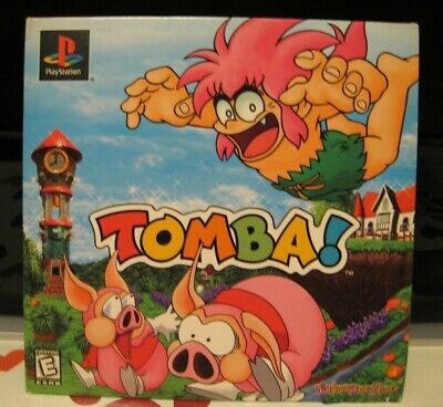 Tomba! (Sony, PlayStation, PS1)-Rare Demo Disc with ToysRUs savings still on it!