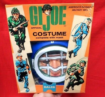 VINTAGE GI JOE 1964  JOEZETA :   HALCO DEEP SEA DIVER CHILD SIZE COSTUME NMIB - Kids Gi Joe Costumes