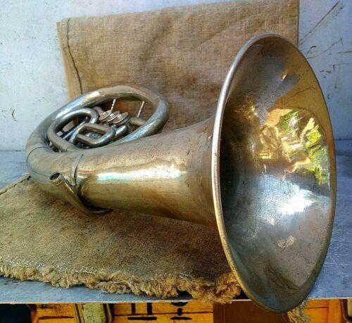 Horn Musical Instrument Vintage Original USSR