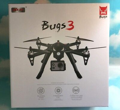 MJX Bugs 3 Drone Quadcopter Brushless Motors Camera Support Long Flight Time