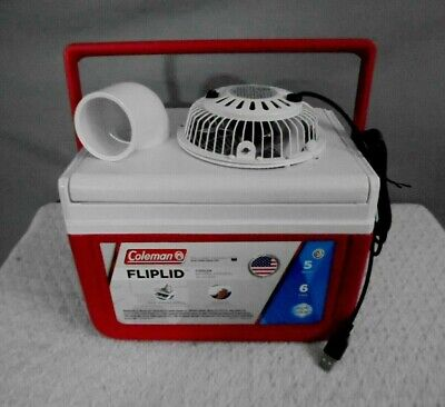 """Mini Coleman 5qt Personal Swamp Cooler Portable Air Conditioner 4"""" USB Fan for sale  Shipping to Nigeria"""