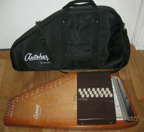 Autoharp Oscar Schmidt 21 Chords USA Case READY TO PLAY