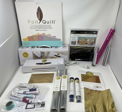 Minc foil machine Quill Foil pens packs and rolls of Heidi Swapp foil MUST SEE