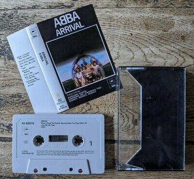 ABBA ARRIVAL CASSETTE TAPE ALBUM EPIC EPC 40-86018 TESTED DANCING QUEEN / MONEY