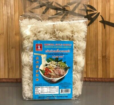 VIETNAMESE RICE STICK BANH PHO Oriental style noodle 2.2 LBS PRODUCT OF THAILAND Oriental Style Noodle