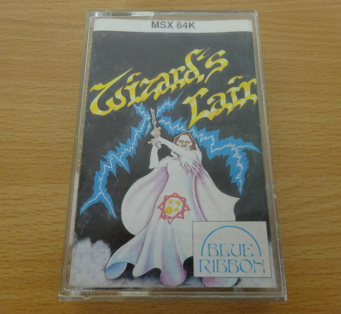 retro computer games - WIZARDS LAIR - MSX 64K Rare Computer Game Vintage Retro