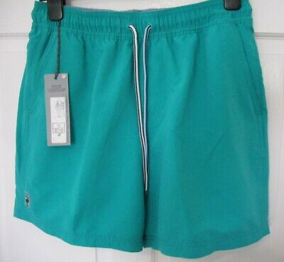 """M&S Collection Mens Swim Shorts/JADE -Size S W30-32"""" (76-81cms) BNWT Quick Dry"""