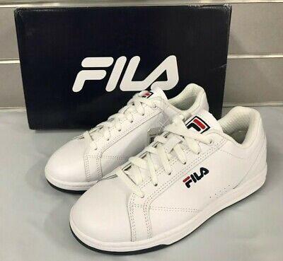 Fila Reunion Women's Ladies Leather Court Shoes Casual WHT Sneakers NEW Sz 6-11