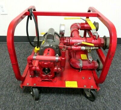 Rice Hydro El Hydrostatic Test Pump 500 Psi 3 Gpm 1 Hp