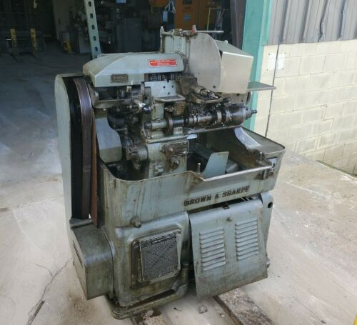 Brown & Sharpe Size 00G Screw Machine w/Tooling as pictured